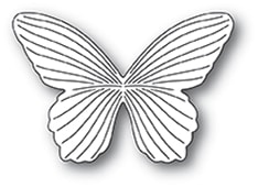 94385 Dreamy Butterfly craft die