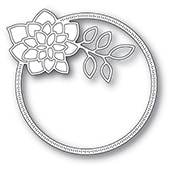 94412 Dahlia Circle Frame craft dies
