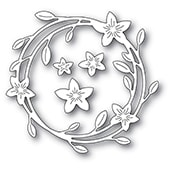 94419 Magnolia Wreath craft dies