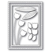 94440 Tulip Trio Frame craft dies