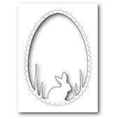 94445 Bunny Egg Collage craft die