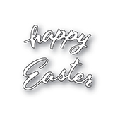 94446 Arched Happy Easter craft die