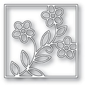 94478 Stained Glass Floral craft die