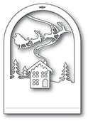 94494 Cabin Snowglobe craft die
