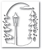 94501 Lamplight Tree Collage craft die