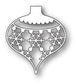 98231 Snowflake Ornament craft dies