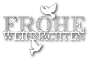 99032 Peaceful Frohe Weihnachten craft dies
