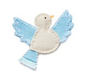 99402 Plush Songbird craft die
