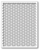99434 Honeycomb Background craft die