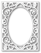 99528 Quincy Frame craft die