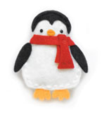 99554 Plush Little Penguin craft die