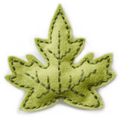 99571 Plush Maple Leaf craft die