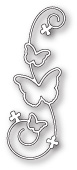 99621 Butterfly Flourish craft die