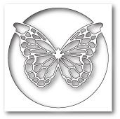 99781 Chantilly Butterfly Collage craft die