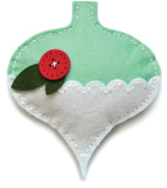 99861 Plush Gift Ornament craft die