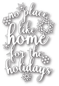 99862 Home For The Holidays craft die