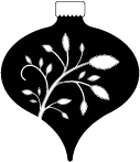 C2003 Pristine Ornament wood mounted stamp