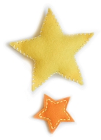 99519 Plush Puffy Stars craft die