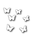 99407 Mini Butterflies craft die