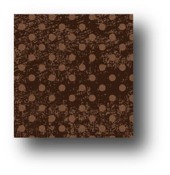 77864 Vanilla Bean distressed dots pattern