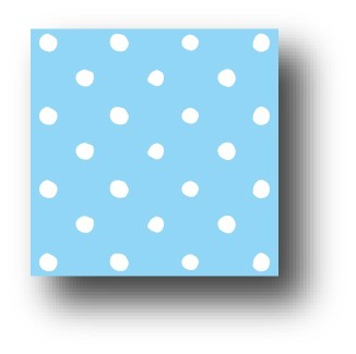 77882 Bluebird dots pattern