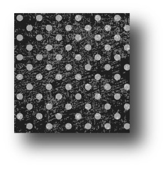 77901 Licorice distressed dots pattern