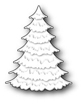 99005 Frosted Spruce Tree craft dies
