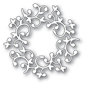94008 Hutton Wreath craft die