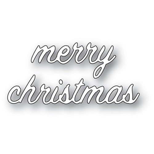 94092 Merry Christmas Swash Script craft die