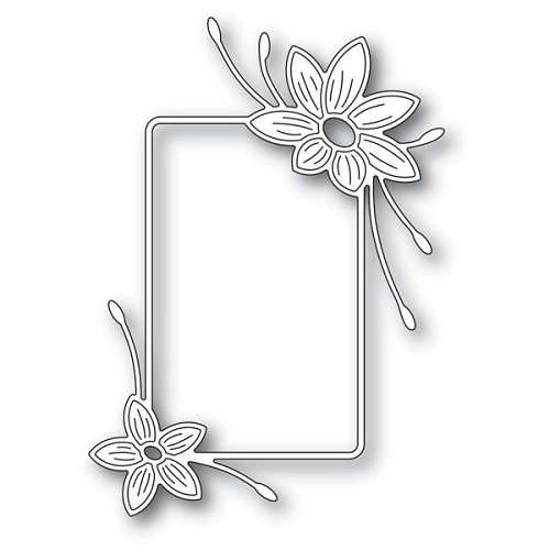 94246 Starflower Flower Frame craft die
