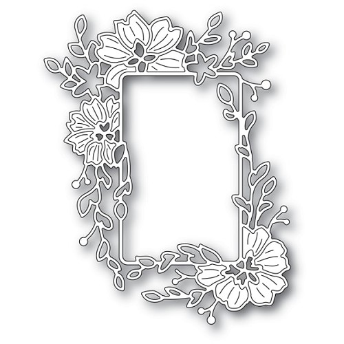 94278 Clarkia Flower Frame craft die