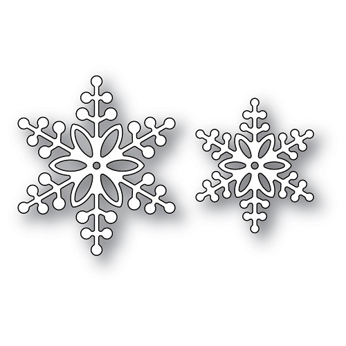 94302 Bauble Snowflakes craft die