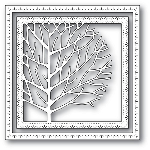 94303 Winter Tree Frame craft die