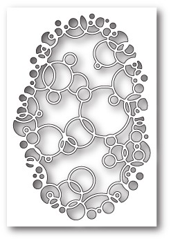 99709 Bubble Ring Collage craft die