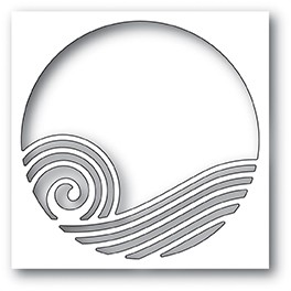 99963 Rolling Wave Collage craft die